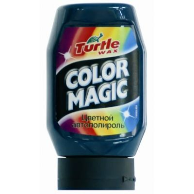 TURTLE WAX Полироль COLOR MAGIC т-зеленая 300мл